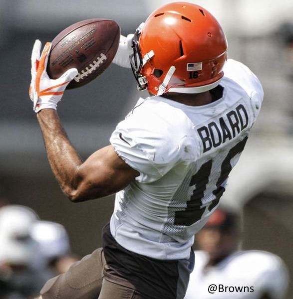 #Browns #BrownsCamp #BrownsTwitter #DawgPound C.J. Board the up and coming wide receiver that nobody seen coming