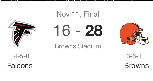 It's Dangerous, Browns week 10recap