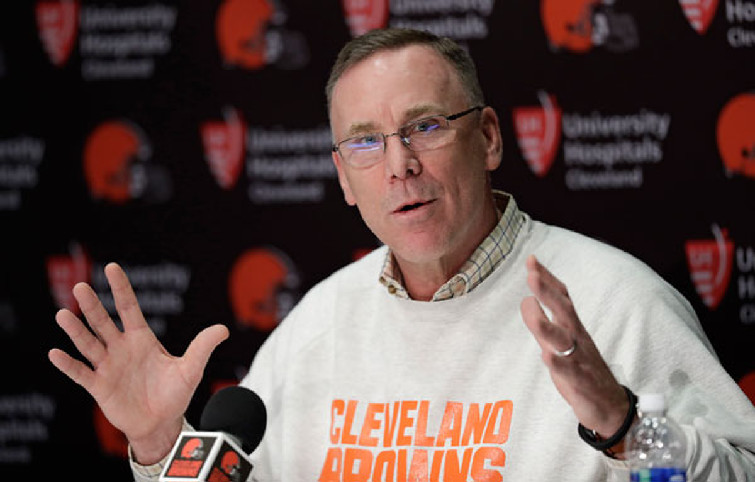 John Dorsey's time has arrived.