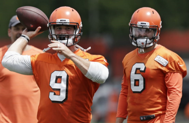 Browns and the next quarterback question.