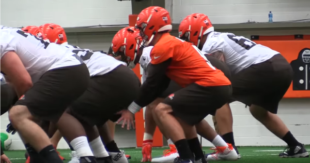 First look at the 2019 Browns. Part 1: The offensive line